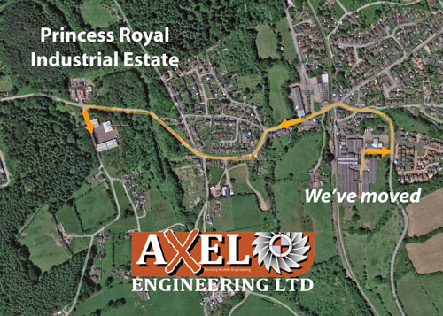 Axel Engineering site map