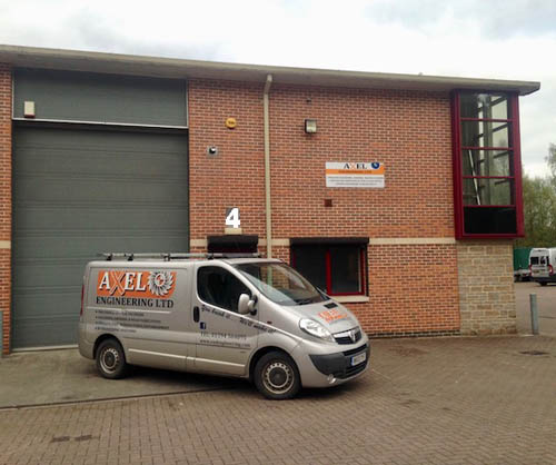 The move is complete at Axel Engineering