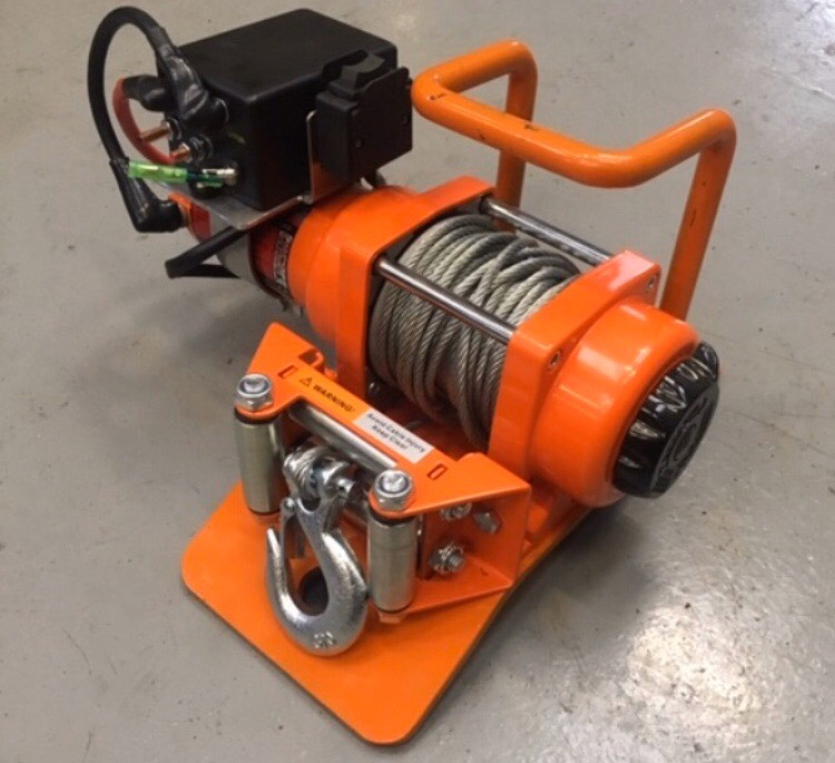 Amazing new winch product - Axel engineering, Forest of Dean